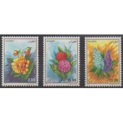 Algérie - 1995 - No 1083/1085 - Fleurs