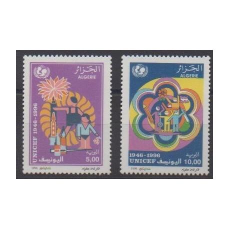 Algeria - 1996 - Nb 1120/1121 - Childhood