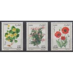 Algérie - 1997 - No 1131/1133 - Fleurs