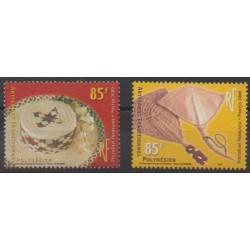 Polynesia - 2000 - Nb 627/628 - Craft