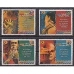 Polynesia - 2000 - Nb 614/617