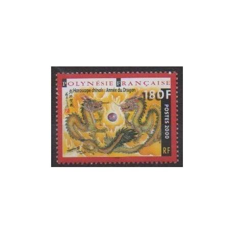 Polynesia - 2000 - Nb 612 - Horoscope