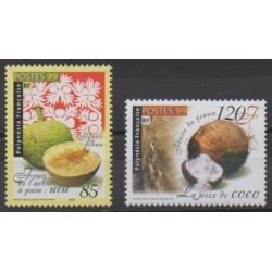 Polynesia - 1999 - Nb 588/589 - Fruits or vegetables