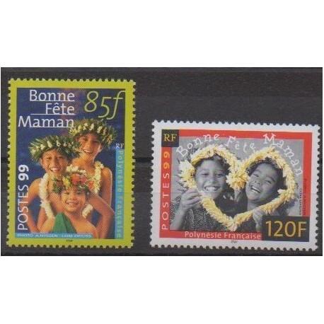 Polynesia - 1999 - Nb 586/587