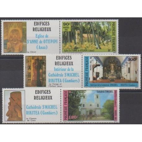 Polynesia - 1985 - Nb 243/245 - Churches