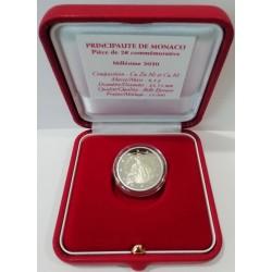 2 euro commémorative - Monaco - 2020 - 300th anniversary of the birth of Prince Honoré III - Proof
