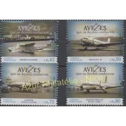 Portugal (Açores) - 2014 - No 585/588 - Avions