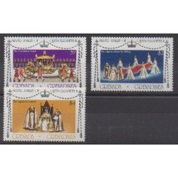 Grenadines - 1977 - Nb 191/193 - Royalty