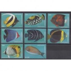 Grenadines - 1997 - Nb 2077/2084 - Sea life