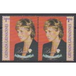 Grenadines - 1998 - Nb 2355/2356 - Royalty