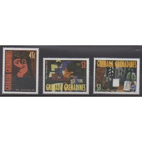 Grenadines - 1998 - Nb 2346/2348 - Paintings