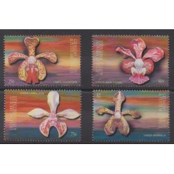 Grenadines - 2001 - Nb 3044/3047 - Orchids