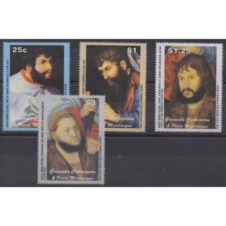 Grenadines - 2003 - Nb 3261/3264 - Paintings