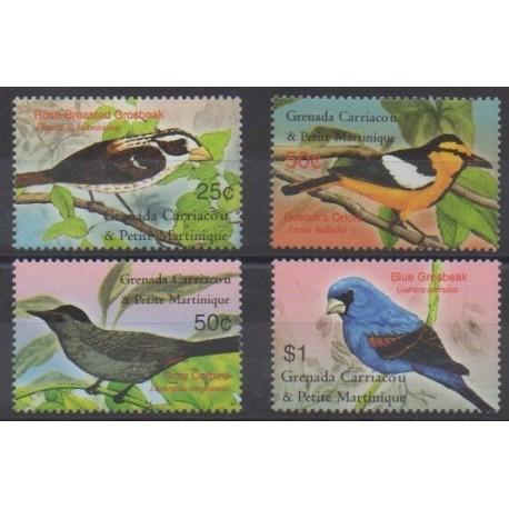 Grenadines - 2003 - Nb 3370/3373 - Birds