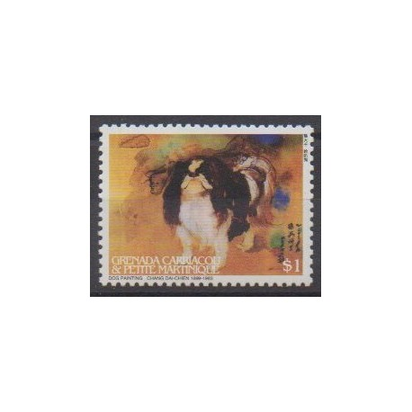 Grenadines - 2006 - Nb 3561 - Horoscope - Paintings