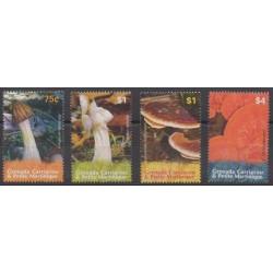 Grenadines - 2007 - Nb 3637/3640 - Mushrooms