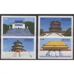 Grenadines - 1996 - Nb 1896/1899 - Monuments