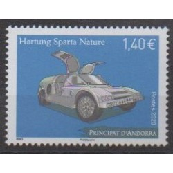 French Andorra - 2020 - Hartung Sparta Nature - Cars