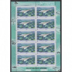 France - Airmail - 2019 - Nb PA83 - Minifeuille - Planes - Concorde