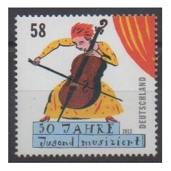 Germany - 2013 - Nb 2815 - Music