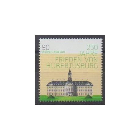 Germany - 2013 - Nb 2812 - Various Historics Themes - Castles