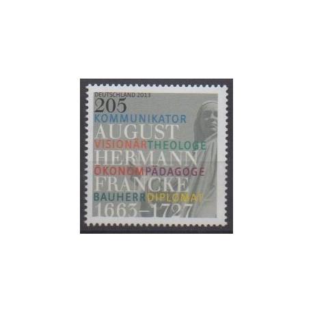 Germany - 2013 - Nb 2813 - Celebrities