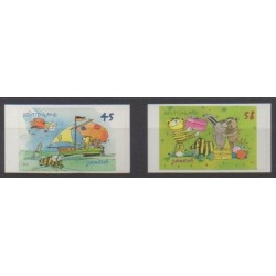 Germany - 2013 - Nb 2818/2819 - Literature - Childhood