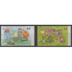 Allemagne - 2013 - No 2816/2817 - Littérature - Enfance
