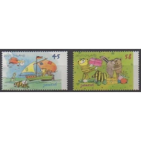 Germany - 2013 - Nb 2816/2817 - Literature - Childhood