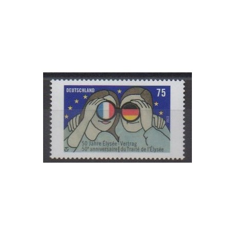 Germany - 2013 - Nb 2796 - Various Historics Themes