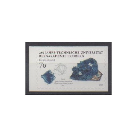 Germany - 2015 - Nb 2999 - Minerals - Gems - Science