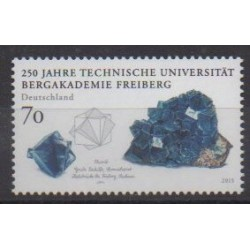 Germany - 2015 - Nb 2998 - Minerals - Gems - Science