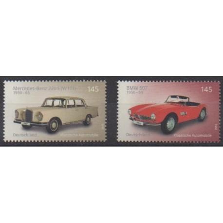 Germany - 2015 - Nb 2952/2953 - Cars
