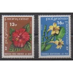 Polynésie - 1978 - No 119/120 - Fleurs