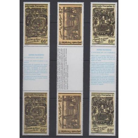 Polynesia - 1989 - Nb 347A/349A