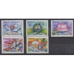 Polynesia - 1989 - Nb 338/342