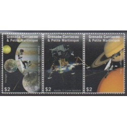 Grenadines - 2009 - Nb 3809/3811 - Space