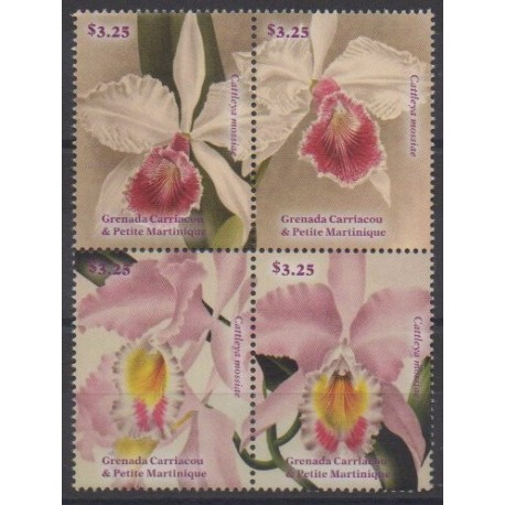 Grenadines - 2014 - Nb 4152/4155 - Orchids
