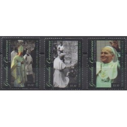 Grenadines - 2011 - Nb 3932/3934 - Pope