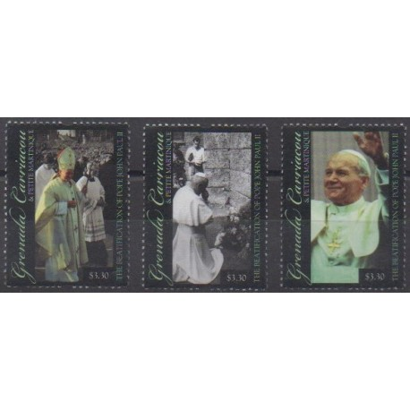 Grenadines - 2011 - Nb 3932/3934 - Pope