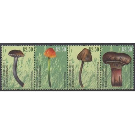 Grenadines - 2011 - Nb 3978/3981 - Mushrooms