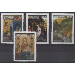 Grenadines - 2013 - Nb 4049A/4049D - Christmas - Paintings