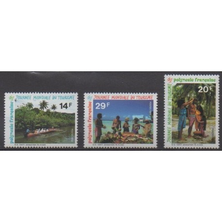 Polynesia - 1995 - Nb 480A/480C - Tourism