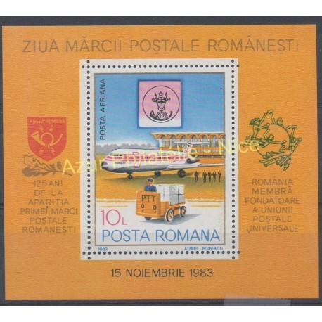 Roumanie - 1983 - No BF 161 - Avions