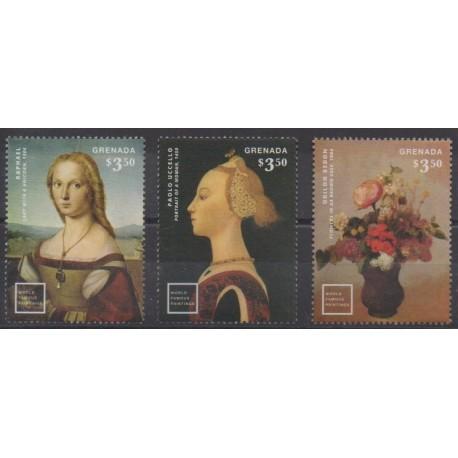 Grenade - 2014 - Nb 5653/5655 - Paintings
