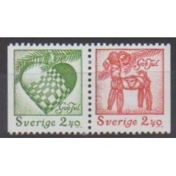 Sweden - 1993 - Nb 1783/1784 - Christmas