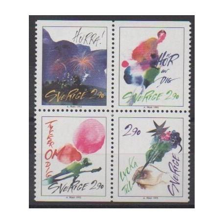 Sweden - 1993 - Nb 1767/1770