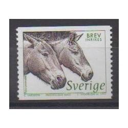Sweden - 1997 - Nb 1973 - Horses