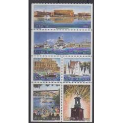 Sweden - 1998 - Nb 2032/2037 - Boats