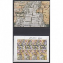 Bulgaria - 2020 - Nb C4586 - Postal Service - Europa